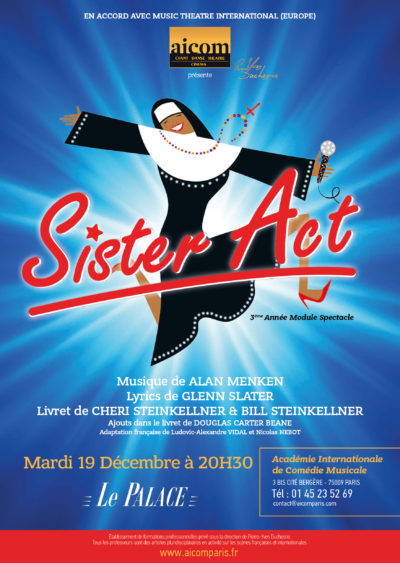 AFFICHE AICOM SISTER ACT