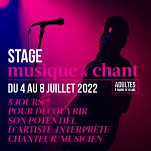 Stage Formation Musique & Chant